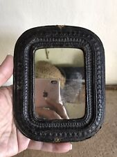 RARE Early Antique Mirror Looking Glass AKNY 1878 Patina Framed AAFA