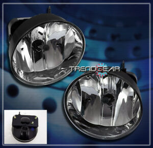 2002-2009 GMC ENVOY DENALI SLE SLT XL XUV BUMPER DRIVING CHROME FOG LIGHTS LAMPS