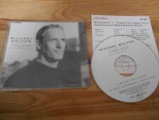 CD Pop Michael Bolton - Timeless (2 Song) Promo COLUMBIA +Presskit sc