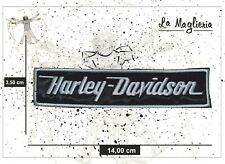 Patch - Toppa Ricamata da cucire - Harley Davidson - Moto - 14 cm Bikers