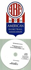 Original ABA Radio Broadcast on CD - Memphis Tams vs Utah Stars (1974)
