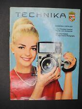Linhof General Catalog Precision Cameras / Tripods / Accessories 1966