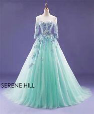 Muslim green  wedding dress custom size 2-4-6-8-10-12-14-16-18-20-22+++++