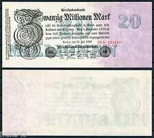 ALEMANIA GERMANY 20 Millionen 20000000  Marks 1923  Pick 97b    SC / UNC