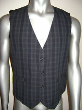 GUESS VEST TOP MENS size XL BLACK CHARCOAL 100% COTTON STUNNING