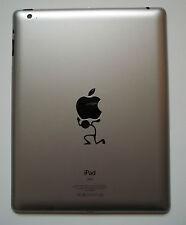 Stick Man Lifting Decal - Vinyl Sticker for iPad Mac Macbook iLift Carry Tablet