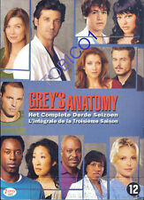 GREY'S ANATOMY - 7 DVD BOX - SEIZOEN 3 - SEALED - NIEUW