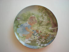Stop and Smell the Roses Rusty Money collector plate-Reduced Price!
