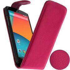 Housse Etui Clapet pour LG Google Nexus 5 - Rose