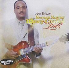 DEE BROWN (JAZZ) - BROWN SUGAR, HONEY-COATED LOVE NEW CD