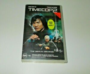 Timecop 2 VHS PAL Jasn Scott Lee