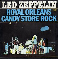 """LED ZEPPELIN ROYAL ORLEANS / CANDY STORE ROCK FRENCH 45 (LEFT) PS 7"""""""