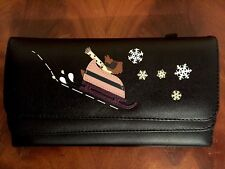 RADLEY London - LEATHER LADYS PURSE -BOBSLEIGH( Black)RRP - £75.00 New with Tags