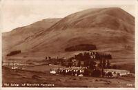 SPITTAL OF GLENSHEE PERTHSHIRE SCOTLAND UK~PANORAMIC REAL PHOTO POSTCARD 1931