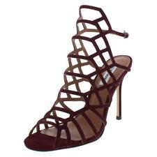 Steve Madden Womens Slithur Purple Dress Sandals Shoes 10 Medium (B,M) BHFO 6672