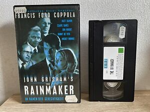 [VHS] THE RAiNMAKER (1997) Matt Damon | Danny DeVito | VMP Video | Verleih Box |