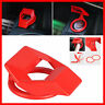 Universal Car Interior Engine Start Stop Push Button Switch Cover Trim Sticker
