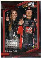 2017 Panini Torque Racing NASCAR Red Parallel /100 #84 Kurt Busch