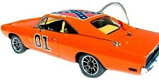 Danbury Mint 1969 Dodge Charger R/T General Lee 01 with Paperwork Title 1:24 New