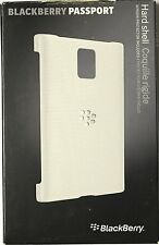 New Genuine OEM Blackberry Passport Hard Shell Case Cover ACC-59523-002 White