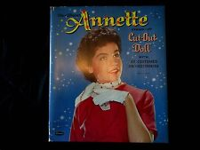 1960 Annette Paper Doll with Clothing & Accessories -  Whitman