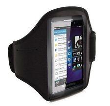 Fascia da braccio Sport per BlackBerry Z10 bracciale Armband fitness corsa Nera