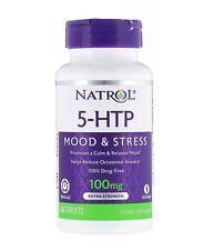 Natrol 5-HTP Stimmung & Stress Zeit Freigabe 100 MG 45 Tabletten