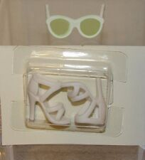Country Bound Silkstone Barbie Accessory White Sandals & Green Lens Glasses (#2)