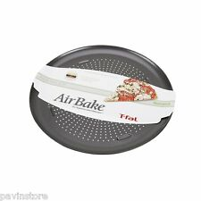 T Fal Airbake Non Stick Pizza Pan Baking Cookware Oven Sheet Bakeware 15.75 inch