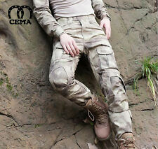 Men Outdoor Tactical Pants Army Military Combat Cargo Camo Combat Trousers Sport