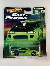 Hot Wheels Premium - Mitsubishi Eclipse Fast and Furious - Free Protector!