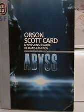 Livre de science-fiction « Abyss» Orson Scott Card - Editions J'ai Lu