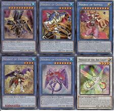 Yugioh Nekroz Deck - Gungir, Sophia, Catastor, Kaleidoscope, Mirror, Arc Light