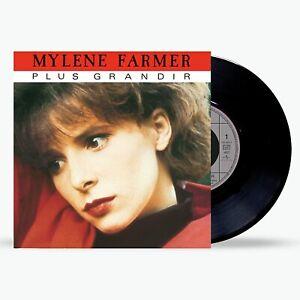 "Mylène Farmer 7"" Plus Grandir - Réédition 2021 - France"