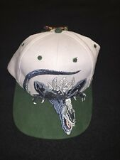 1998 90's Godzilla Strapback Hat Cap Movie Toho Big Logo SnapBack Monster Toon