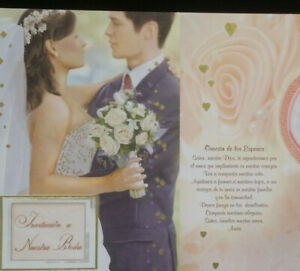 100 Invitaciones De Boda (Spanish Wedding Invitations) Fiesta, Favors,Matrimonio