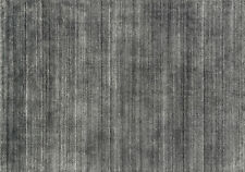 3'x5' Loloi Rug Barkley Blend: 80% Wool - 20% Viscose Charcoal Hand Loomed Trans