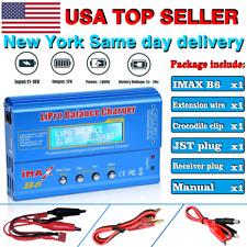 US STOCK IMAX B6 Dual Power AC/DC Battery Lipo RC Balance Charger/Discharger