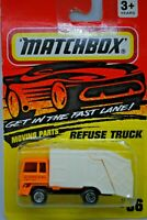 Matchbox SuperFast no: 36 REFUSE Truck w/ Working Tip in DISPOSAL Livery MOC