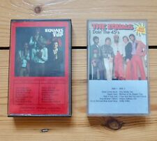 THE EQUALS 2 cassette tapes, At The Top, Doin' The 45's, paper labels, Psych