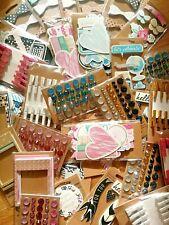 Wholesale Clearance Lot of 496 Packs Scrapbook Embellishments Sticker Craft Bulk