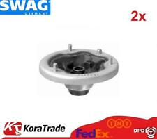 2x SWAG 20540015 FRONT AND SHOCK ABSORBER TOP MOUNT CUSHION SET