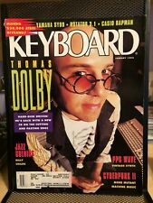 Keyboard Magazine - January 1992 - Thomas Dolby - Billy Childs - Cyberpunk II