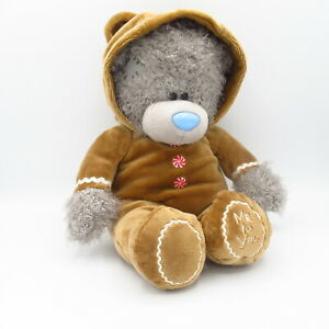 Me to You Tatty Teddy Bear Carte Blanche Gingerbread Man House Plush Soft Toy