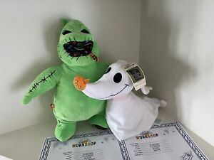 Build A Bear Nightmare Before Christmas Oogie Boogie /zero NEW w Sound