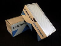 "AIREQUIPT MAGAZINE AUTOMATIC 35MM SLIDE CHANGER Set of 2 Holds 36 Slides 2""x2"""