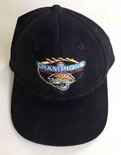 VINTAGE JACKSONVILLE JAGUARS NFL 1999 CENTRAL DIVISION CHAMPIONS HAT CAP RARE!