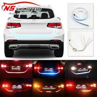 "47"" LED Strip Light Car Trunk Van Tailgate Turn Signal Reverse Backup Brake Lamp"