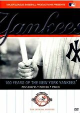 100 Years of the New York Yankees (DVD, 2003, 2-Disc Set) Brand New Sealed