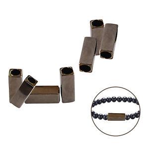 Decorative Beads Bugle Rectangle Tube Shape Jewellery Makings Bracelets Armlets